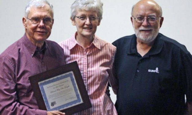 Lifetime membership awarded to Dick and Mary Ellen Dougall