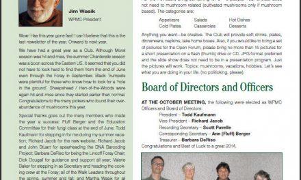 November -December 2013 newsletter published