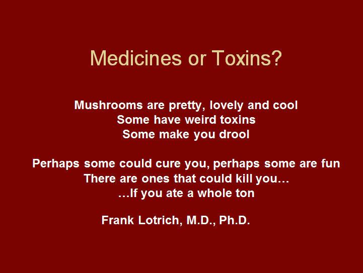 Medicines or Toxins?