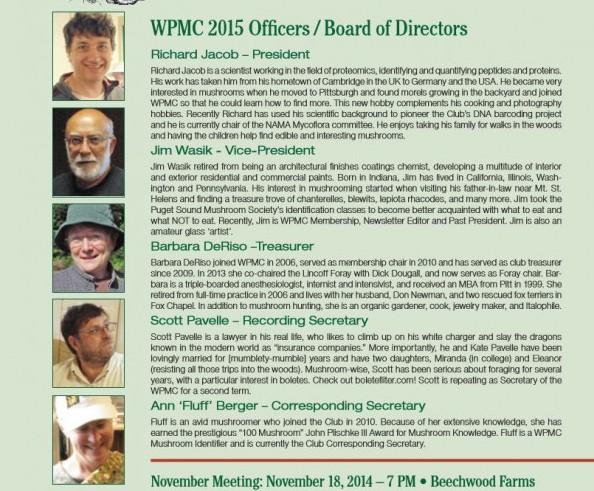 November-December 2014 newsletter published