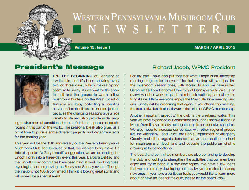 March-April 2015 newsletter published