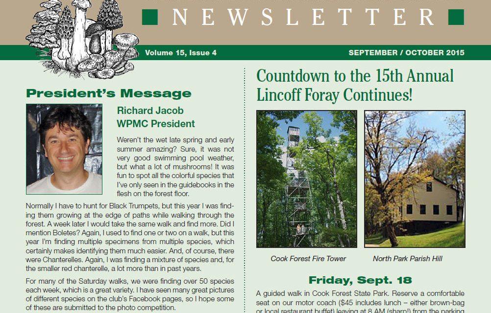 September-October 2015 newsletter published
