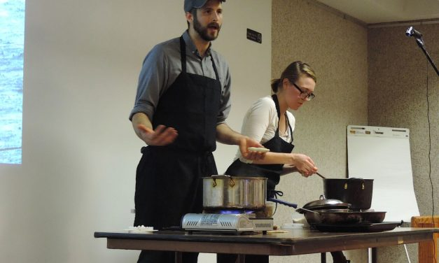 Cooking demo and species list from September 2015 Meeting on 09/15/2015