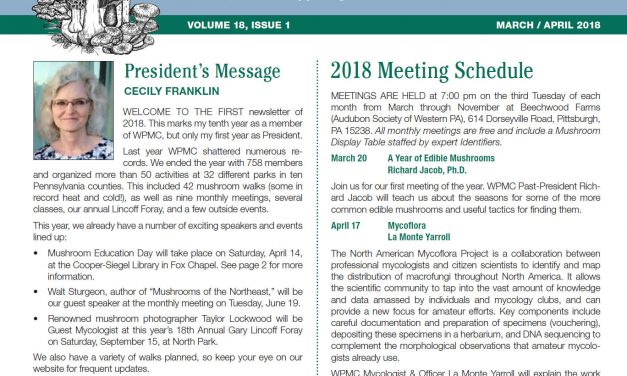 March-April 2018 newsletter