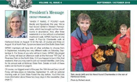 September-October newsletter published.