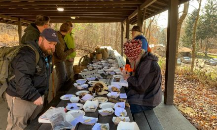 Species list from Black Friday walk at Camp Guyasuta on 11/23/2018