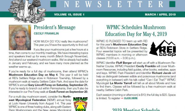 March to April newsletter has been published