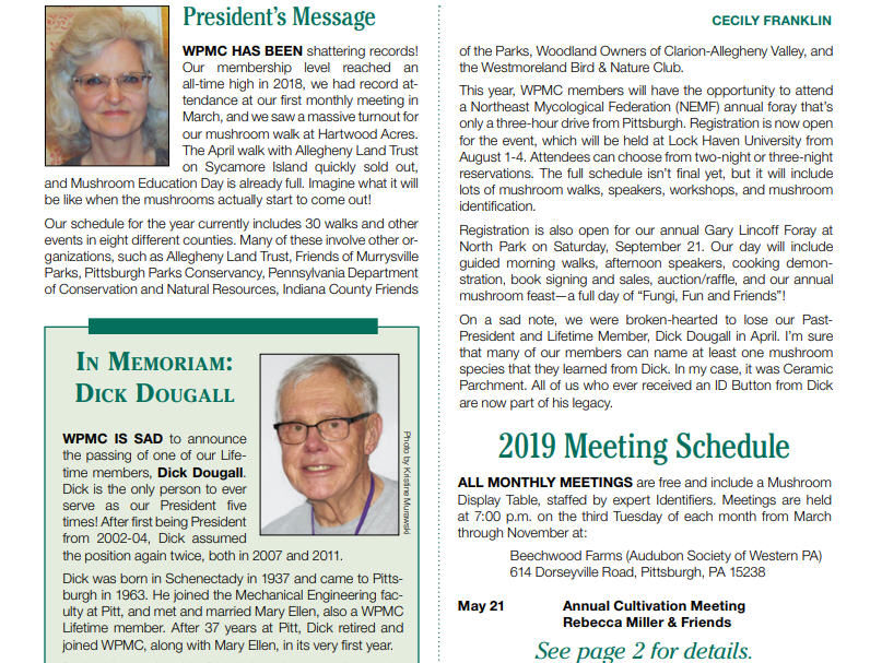 May to June newsletter has been published